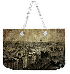 Paris Weekender Tote Bag by Diane Diederich