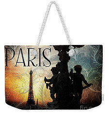 Paris Weekender Tote Bag
