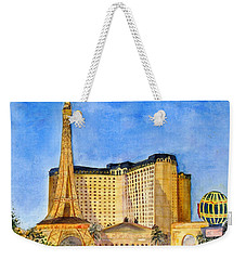 Paris Hotel And Casino Weekender Tote Bag