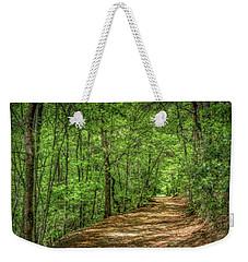 Path Less Travelled - Impressionist Weekender Tote Bag