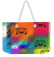 Pattern Art Weekender Tote Bag