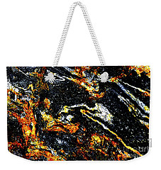 Weekender Tote Bag featuring the photograph Patterns In Stone - 189 by Paul W Faust - Impressions of Light