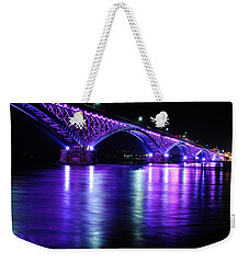 Peace Bridge Supporting Breast Cancer Awareness Weekender Tote Bag