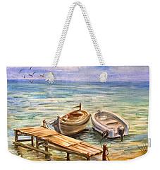 Peaceful Evening Weekender Tote Bag