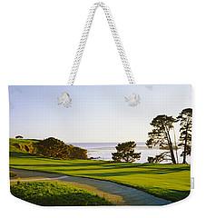 Pebble Beach Golf Course, Pebble Beach Weekender Tote Bag