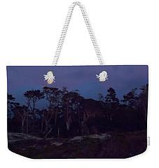 Pebble Beach Moonrise Weekender Tote Bag by Derek Dean