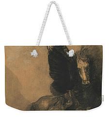 Pegasus And Bellerophon Weekender Tote Bag by Odilon Redon