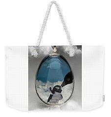 Penguins Art Weekender Tote Bag