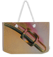Weekender Tote Bag featuring the photograph Perfect Fit by Paul Wear