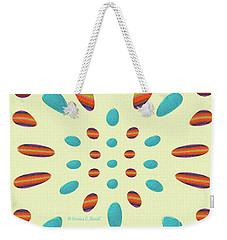Petals N Dots P7 Weekender Tote Bag