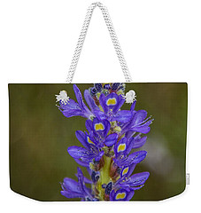 Pickerel Weed Weekender Tote Bag by Christopher L Thomley