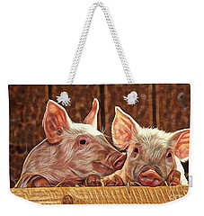 Pig Collection Weekender Tote Bag by Marvin Blaine