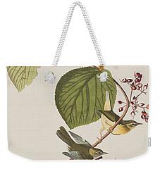 Pine Swamp Warbler Weekender Tote Bag by John James Audubon