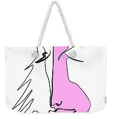 Pink 2 Weekender Tote Bag