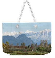Pitt Meadows Weekender Tote Bag