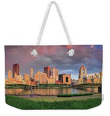 Pittsburgh 2 Weekender Tote Bag