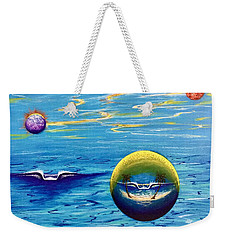 Planet Surf  Weekender Tote Bag