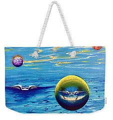 Planet Surf  Weekender Tote Bag