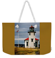 Point Robinson  Lighthouse,vashon Island.wa Weekender Tote Bag