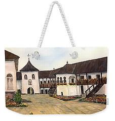 Polovragi Monastery - Romania Weekender Tote Bag