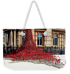 Poppies - City Of Culture 2017, Hull Weekender Tote Bag
