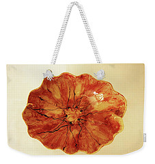 Poppy Weekender Tote Bag by Itzhak Richter
