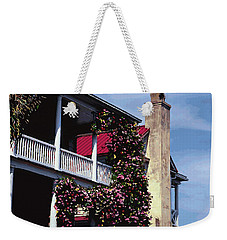 Porch In Bloom Weekender Tote Bag