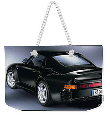 The Porsche 959 Weekender Tote Bag by Jon Neidert