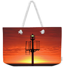 Weekender Tote Bag featuring the photograph Port Hughes Lookout by Linda Hollis