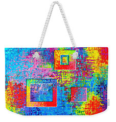 Portals Of Color Weekender Tote Bag