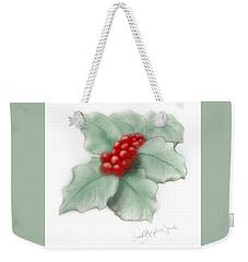 Portland Holly Weekender Tote Bag