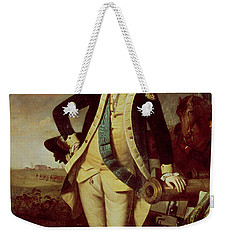 Portrait Of George Washington Weekender Tote Bag by Charles Willson Peale
