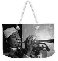 Portrait Of Louis Armstrong Weekender Tote Bag