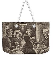 Potato Eaters, 1885 Weekender Tote Bag