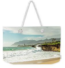 Pounders Beach 1 Weekender Tote Bag