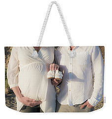 Weekender Tote Bag featuring the photograph Powell Maternity by T Brian Jones