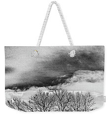 Weekender Tote Bag featuring the photograph Prelude by Steven Huszar