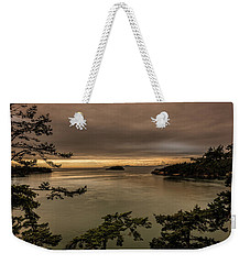 Weekender Tote Bag featuring the photograph Pudget Sound by Sabine Edrissi