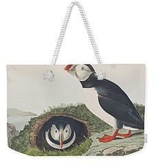 Puffin Weekender Tote Bag
