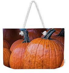 Pumpkins In Rain Weekender Tote Bag
