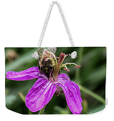 Purple Flower 3 Weekender Tote Bag