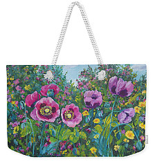 Purple Rain Weekender Tote Bag