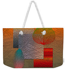 Quiet Sunset At The End Of Northern Summer  Weekender Tote Bag