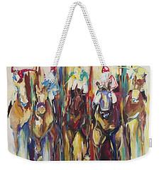 Races Weekender Tote Bag by Heather Roddy