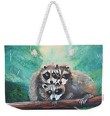 Racoons Weekender Tote Bag