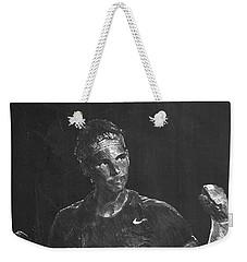 Rafael Nadal Weekender Tote Bag by Semih Yurdabak