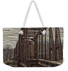 Rail Bridge Weekender Tote Bag