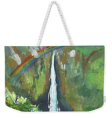 Rainbow Falls  Weekender Tote Bag