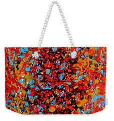 Raindance 1 Weekender Tote Bag by Irene Hurdle