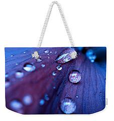 Raindrops Weekender Tote Bag by Rachel Mirror